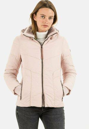STEPP MIT ABNEHMBARER KAPUZE - Winter jacket - rose