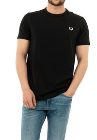 Fred Perry - T-shirt med print - noir - 0