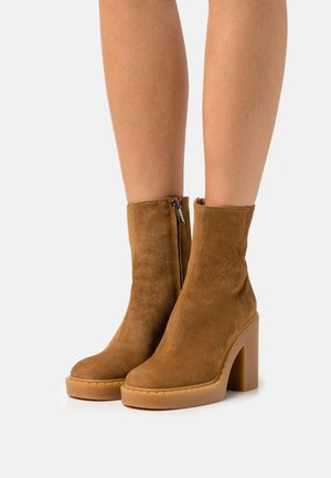 Platform ankle boots - rodeo
