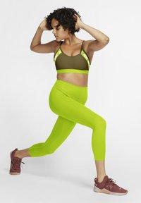 Nike Performance - INDY  - Sports bra - olive flak cyber white - 1