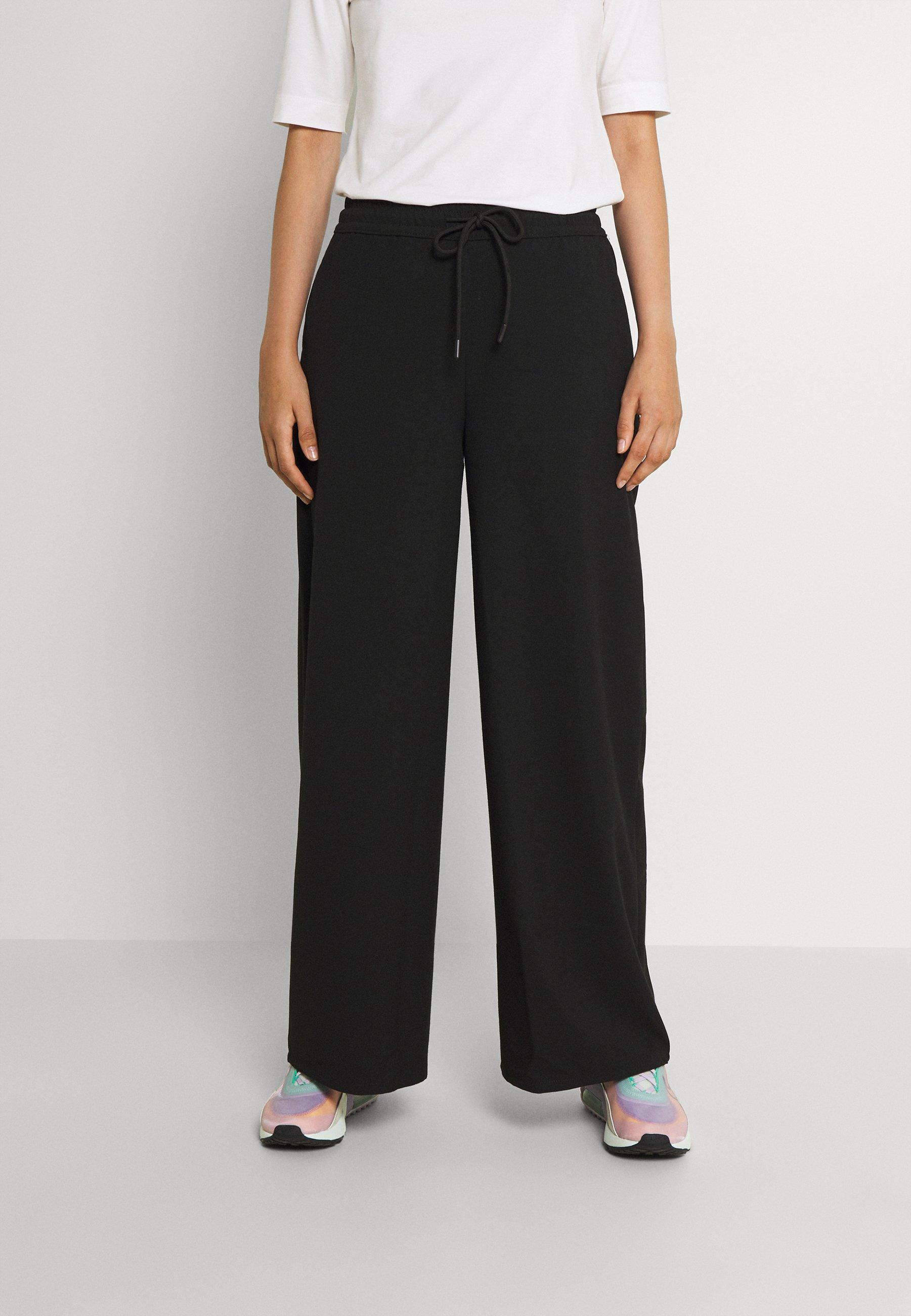 Women NMJAMIE WIDE LEG PANTS - Trousers