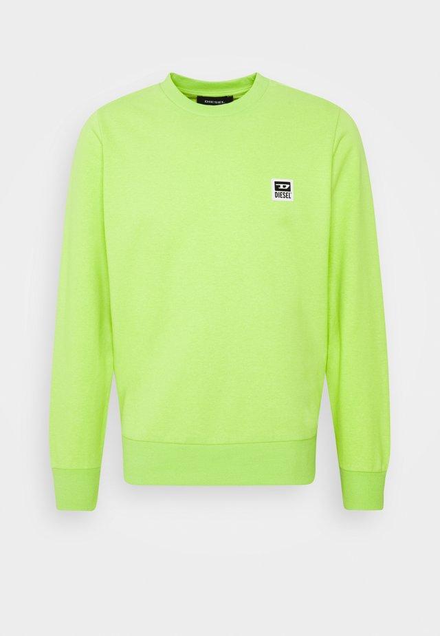 S-GIRK-K12 SWEAT-SHIRT - Sweatshirt - lime