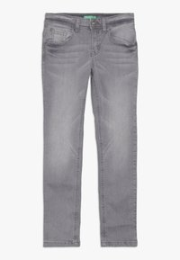 Benetton - TROUSERS - Jeansy Slim Fit - grey - 0