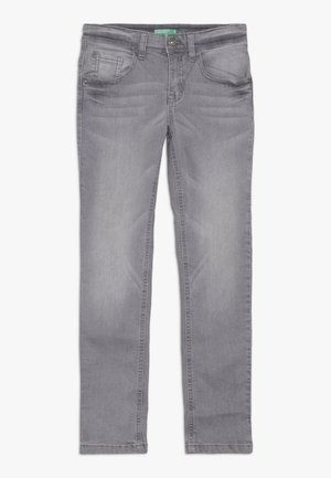 TROUSERS - Slim fit jeans - grey