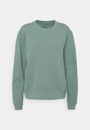 BASIC WOMAN - Sweatshirt - green shadow