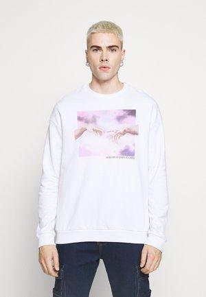 UNISEX - Oversized Sweatshirt - Sweatshirt - white