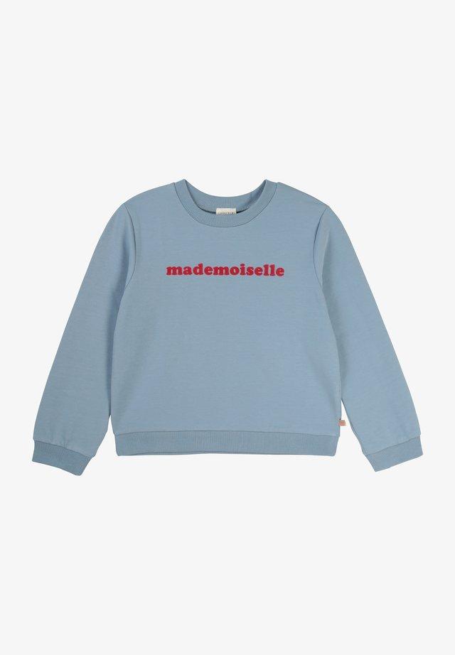 MIT NACHRICHT - Sweatshirt - bleu delave