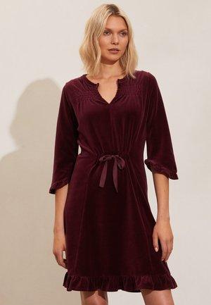 KHLOÉ - Day dress - brown plum