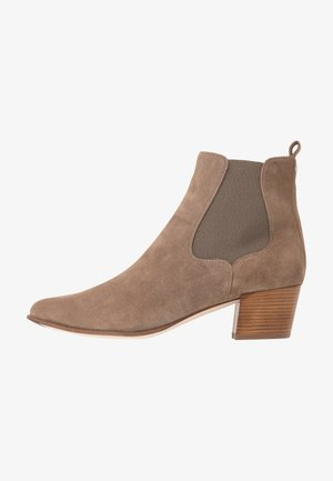 GREYSON - Boots à talons - taupe