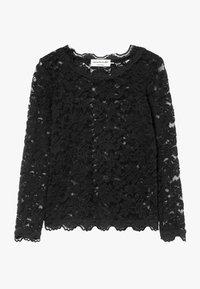 Rosemunde - T-SHIRT LS - Bluser - black - 0