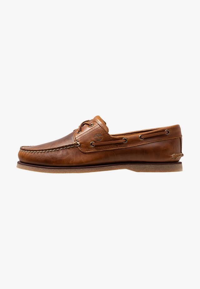 Buty żeglarskie - medium brown