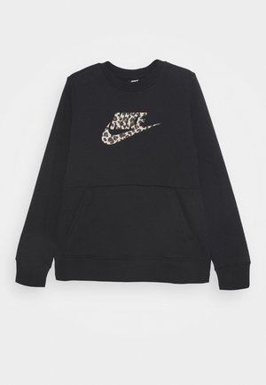 CREW PACK - Sweater - black/fossil stone