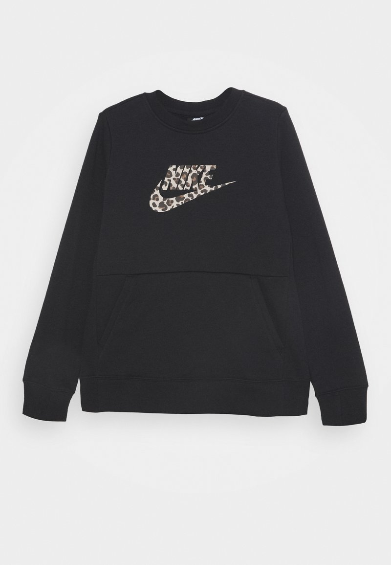 Nike Sportswear - CREW PACK - Sweater - black/fossil stone