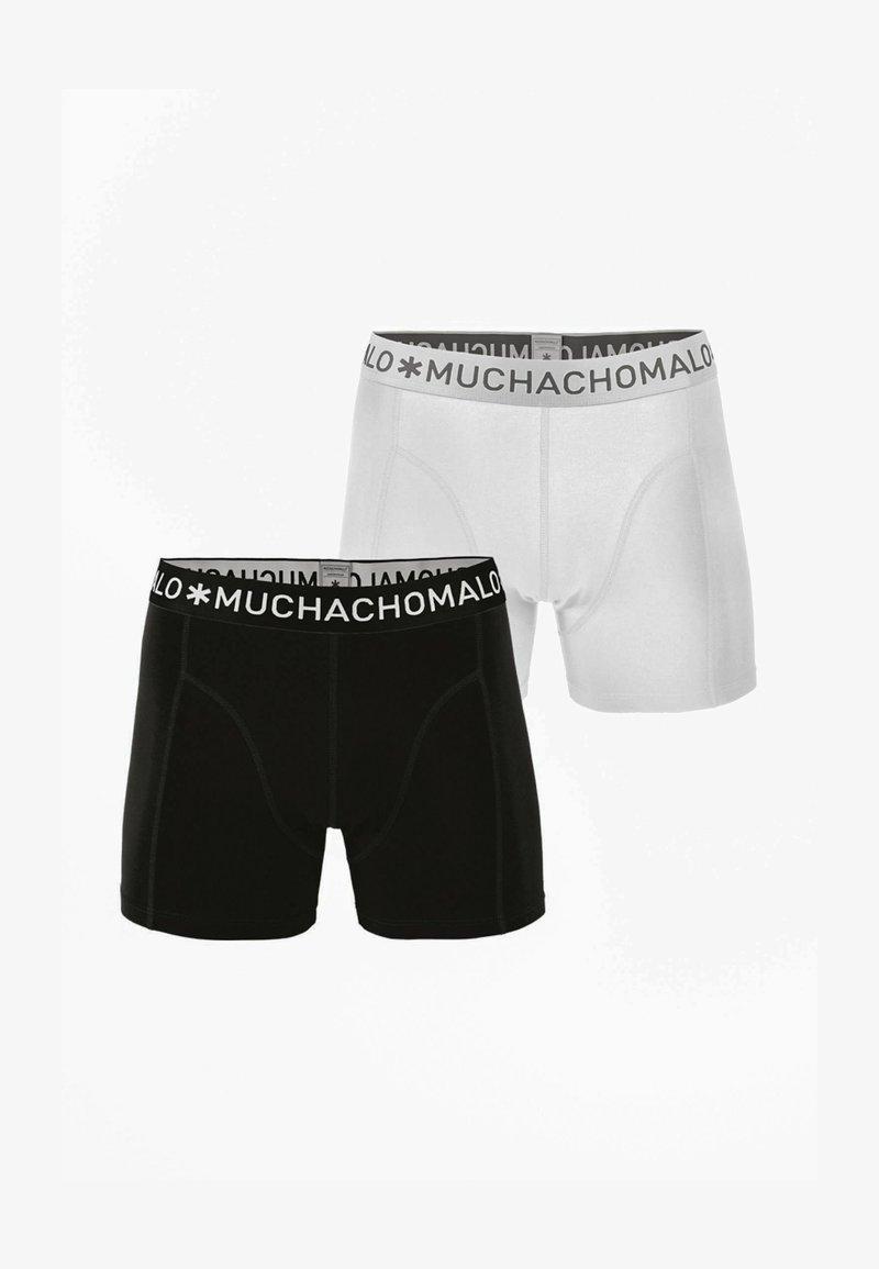 MUCHACHOMALO - 2ER PACK - Boxerky - black / white