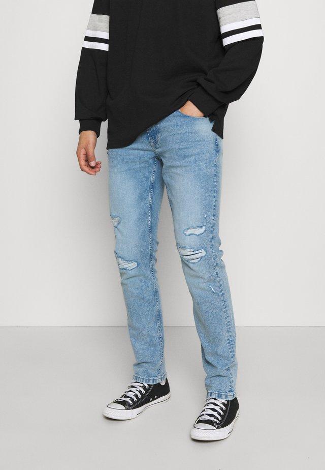 ONSLOOM LIFE REPAIR - Slim fit jeans - blue denim