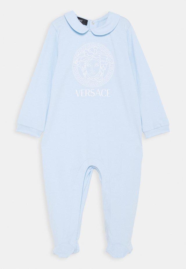 TUTINA CON PIEDI - Jumpsuit - azzurro