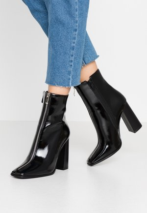 AUBURN - High heeled ankle boots - black