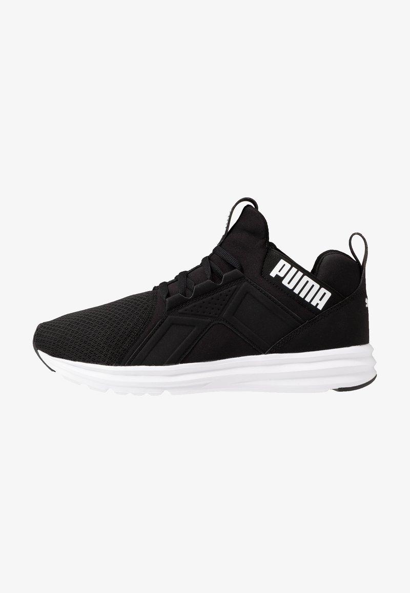 Puma - ENZO EDGE MESH - Kuntoilukengät - black/white