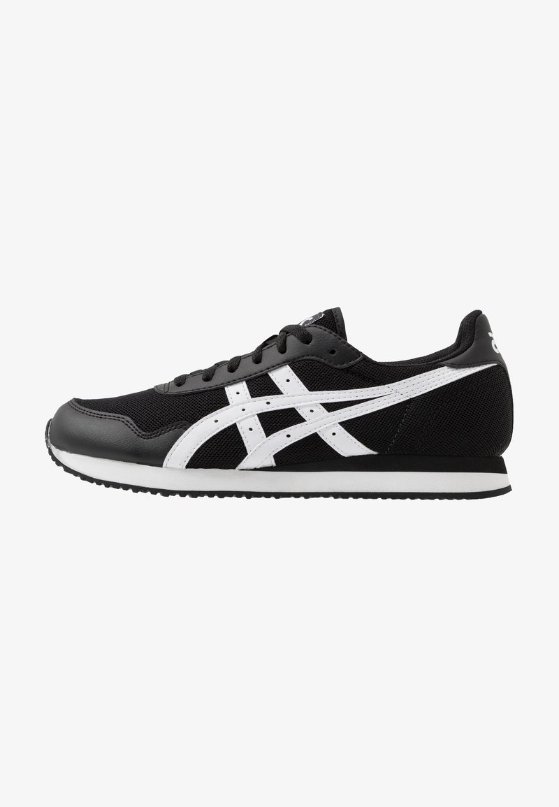 ASICS SportStyle - TIGER RUNNER UNISEX - Trainers - black/white