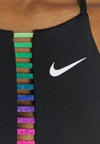 Nike Performance - INDY RAINBOW BRA  - Sujetadores deportivos con sujeción ligera - black/white - 5