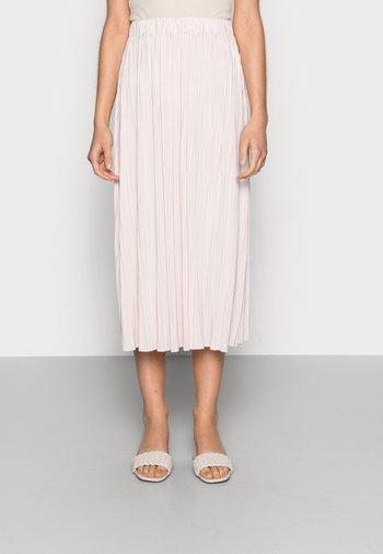 UMA SKIRT - Plisovaná sukně - crystal pink