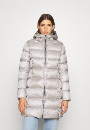 MID LENGTH MATTE - Halflange jas - cold /dark steel