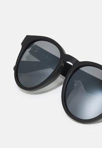 adidas Originals - UNISEX - Sunglasses - matte black/smoke mirror - 3