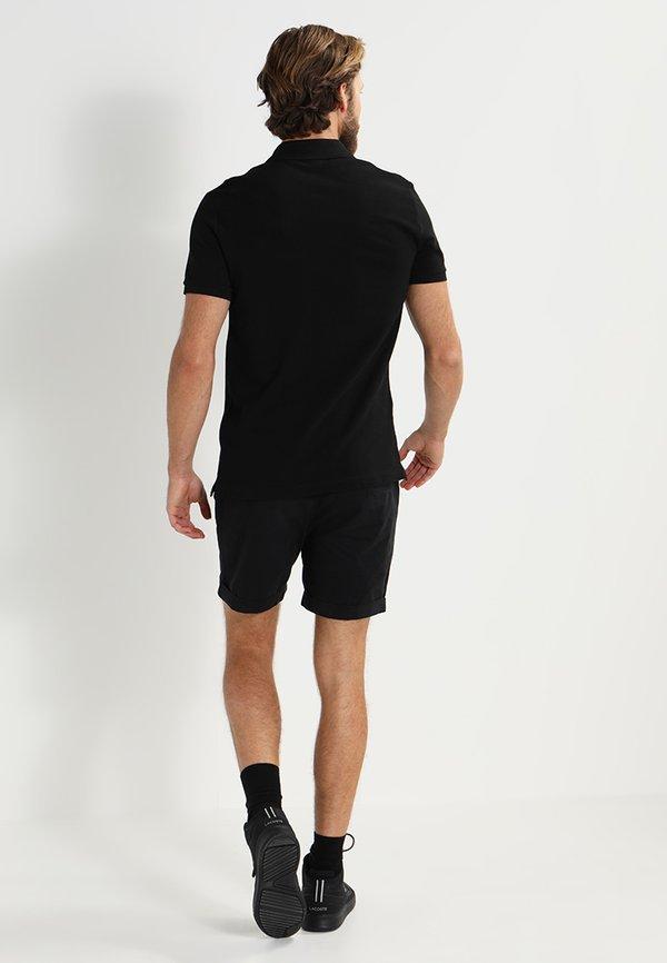 Lacoste Koszulka polo - black/czarny Odzież Męska VOCE