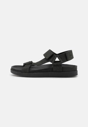 SUNDER RANGE - Sandals - black
