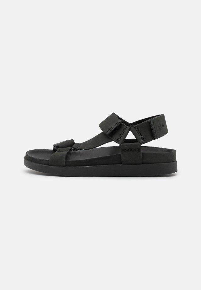 SUNDER RANGE - Sandals - black
