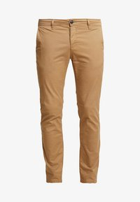 Pier One - Pantalones chinos - tan - 4