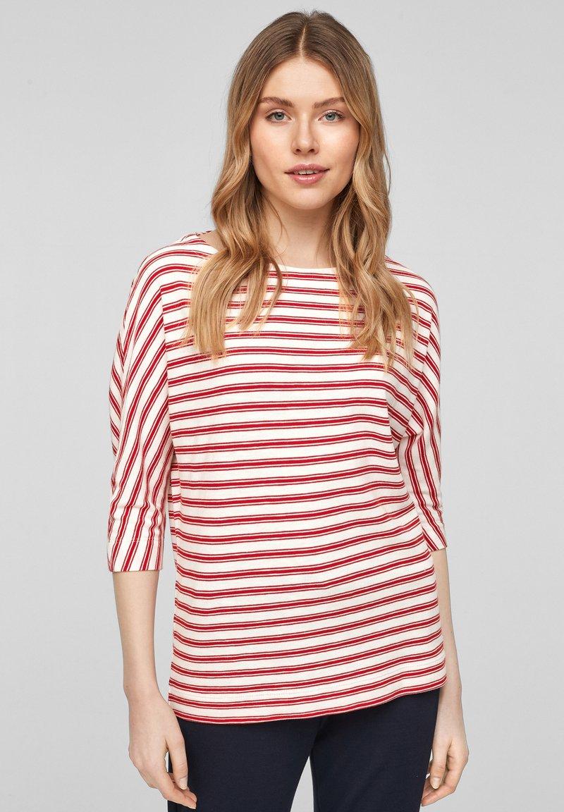 s.Oliver - Longsleeve - red stripes