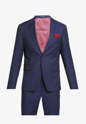 BROKEN PIN SUIT - Puku - dark blue stripe