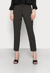 Opus - MELPIN MINIMAL - Trousers - black - 0