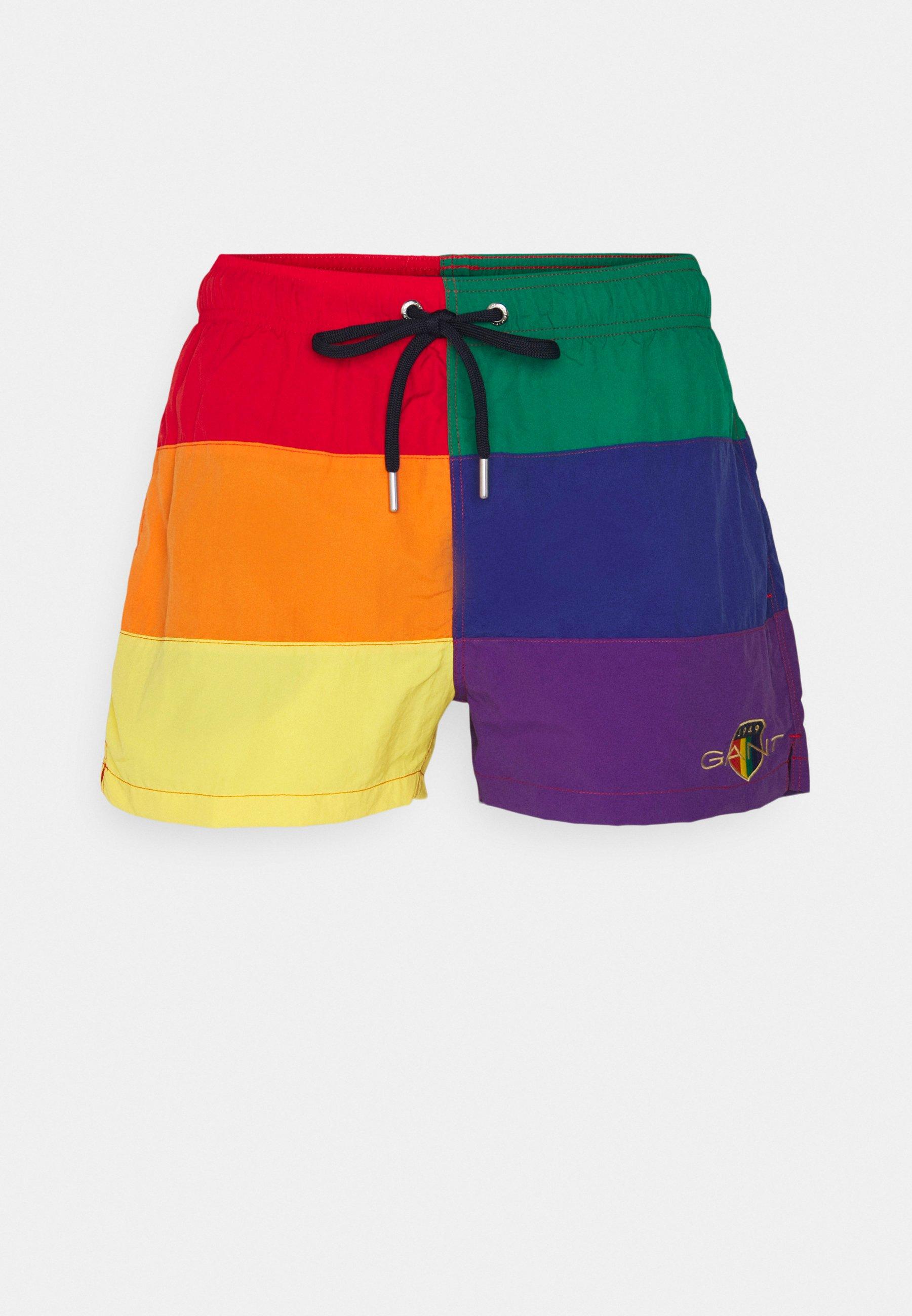 Men PRIDE COLOR BLOCK SWIM - Swimming shorts