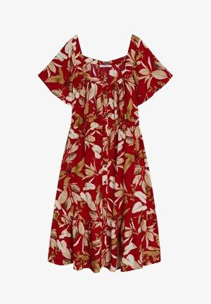 BUCARA - Shirt dress - rot