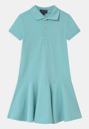 Day dress - turquoise cloud
