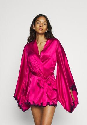 KIMONO - Badjas - pink/black