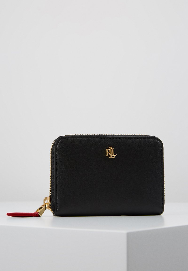 Lauren Ralph Lauren - SUPER SMOOTH ZIP  - Wallet - black/crimson