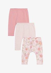 Next - 3 PACK LEGGINGS - Leggings - Trousers - pink - 0