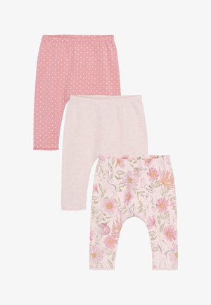 3 PACK LEGGINGS - Leggings - Trousers - pink