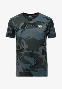 Alpha Industries - BASIC T - Basic T-shirt - black - 3