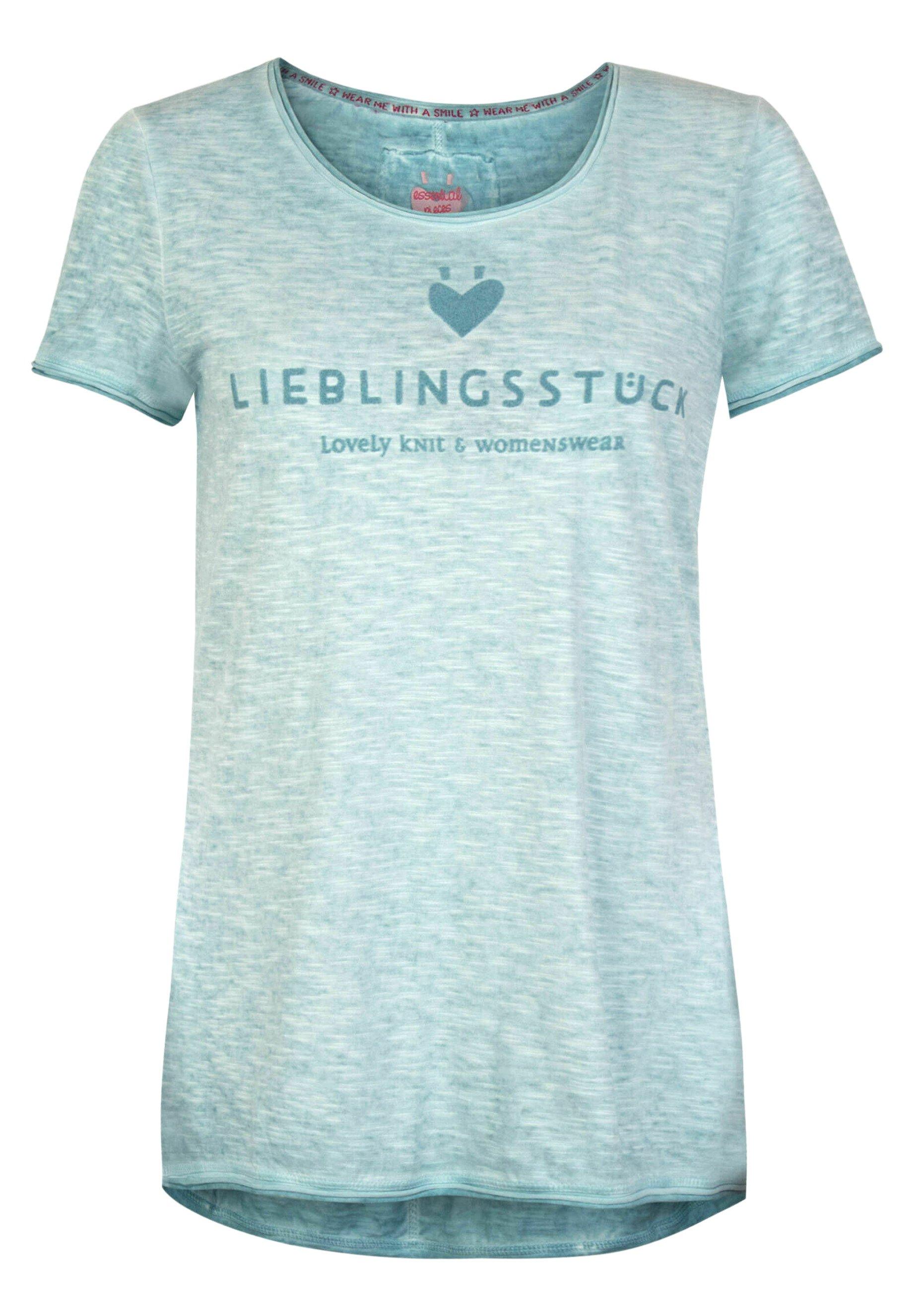 Damen CIAEP - T-Shirt print - blau