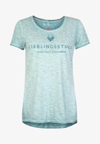 Lieblingsstück - CIAEP - Print T-shirt - blau - 0