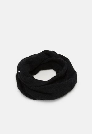 PLUSH SCARF - Snood - black