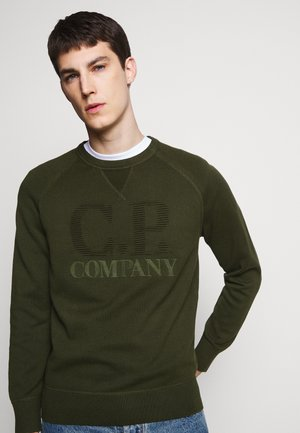 CREW NECK - Jumper - forest night