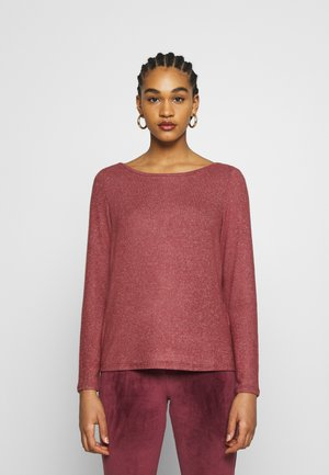 ONLKALA BOAT NECK - Jumper - apple butter