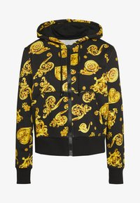 Versace Jeans Couture - veste en sweat zippée - black - 4