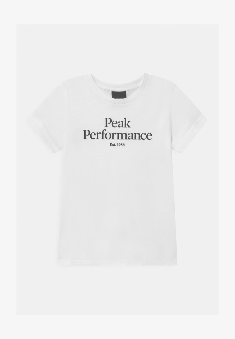 Peak Performance - ORIGINAL COLD BLUSH UNISEX - Print T-shirt - white