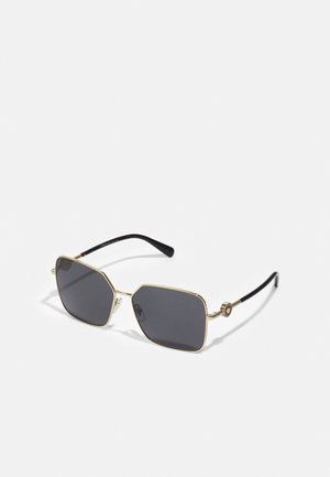 Sonnenbrille - matte gold-coloured